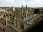 photograph taken from St Mary's tower Oxford
